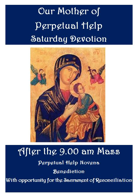 Our Mother of Perpetual Help Saturday Devotion